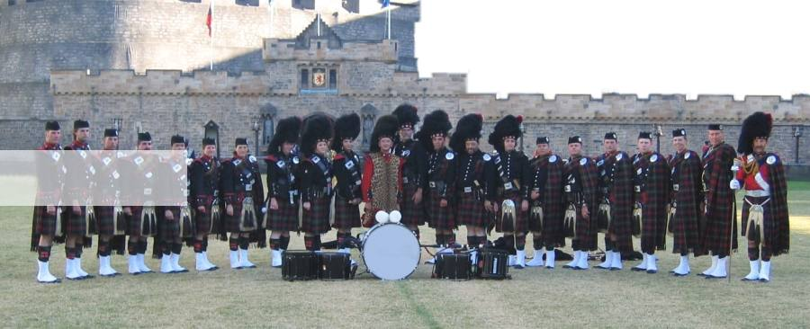 Melbourne Pipe Band at the Edinburgh Tattoo in Sydney